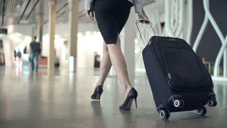 female business travel