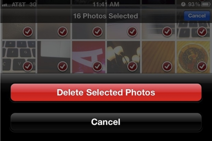 delete photos
