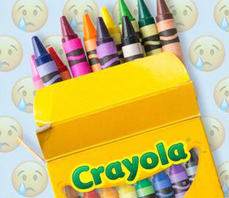 dandelion yellow crayon